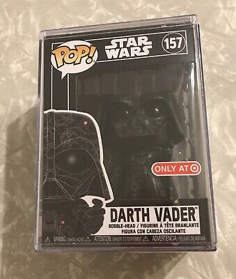 Star Wars Funko Pop Futura Darth Vader Target Exclusive With HARD STACK FREESHIP