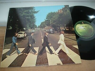 The Beatles Abbey Road PLAYS EX!! DMM REMASTERED STEREO  1989 UK LP