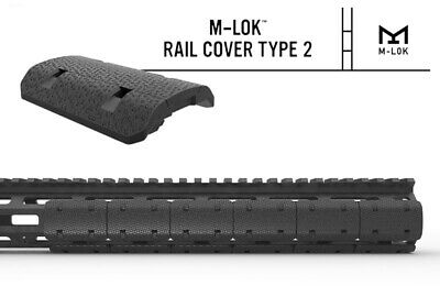 12pcs Tactical M-lok Type 2 Rail Covers For Mlok Rail Hand Protector Accessories