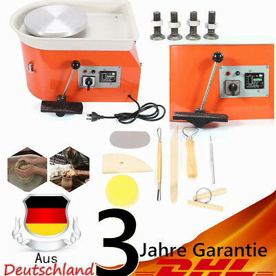 Ceramics Clay Machine Wheel Diameter 25CM Elektrische Töpferscheibe Maschine DIY