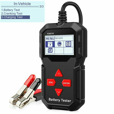 12V Car Battery Tester Cranking Charging Diagnostic Analyzer BST-200 LCD Screen