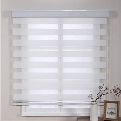 Day and Night Vision Window Roller Blinds Elegant Modern Curtains Bathroom