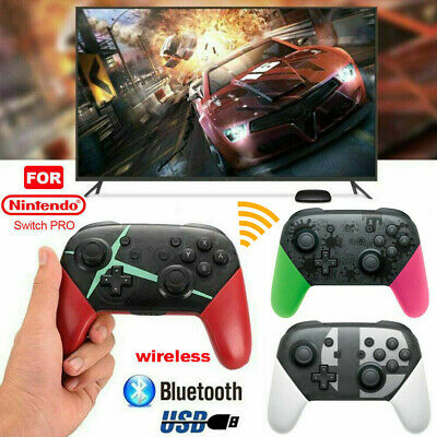 Wireless Bluetooth Pro Controller Gamepad Charging Cable for Nintendo Switch UK-