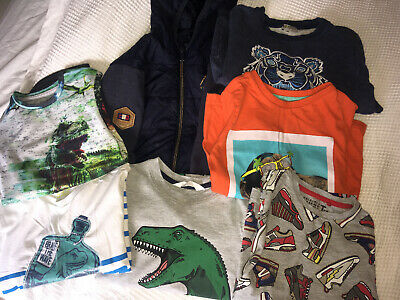 Boys Bundle Age 5 Mayoral Kenzo Tops 7 Items Dinosaurs Tops