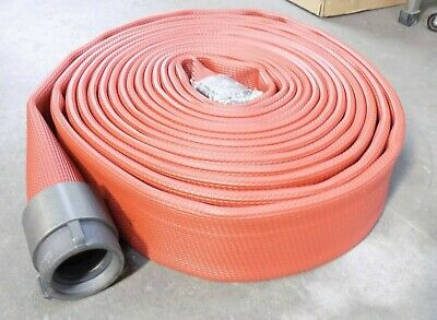 "All-American Hose 50 Ft. x 3"" High Pressure Rubber Hose 300 psi HFX30X50R25N"