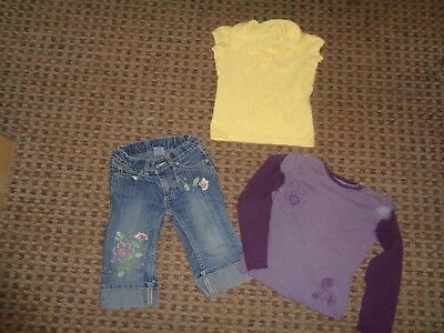 Pumpkin Patch-girls BUNDLE age 3-4-5 mixed item clothes MULTI jeans trousers TOP