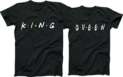 King Or Queen Friends, LOVE, Couples, Tees, Love Matching Shirts