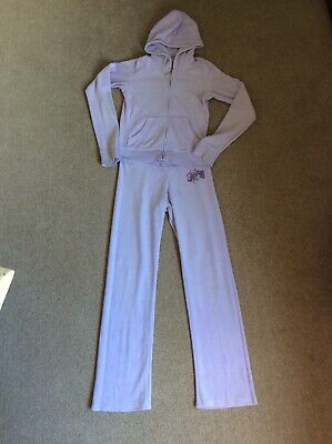 Juicy Couture Girls XL purple Tracksuit