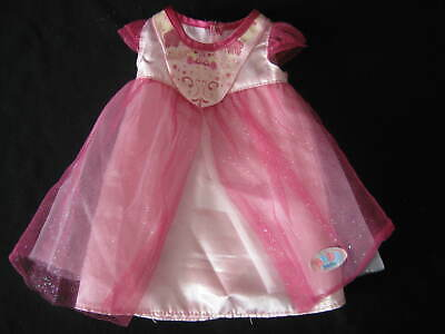 Baby Born Pink Party Dress By Zaph Creations