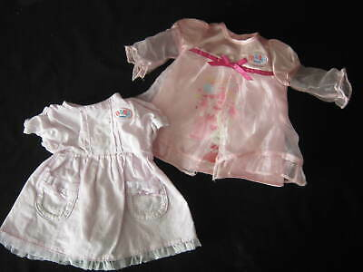 Baby Born  - 2 Pink Dresses   By Zaph Creations