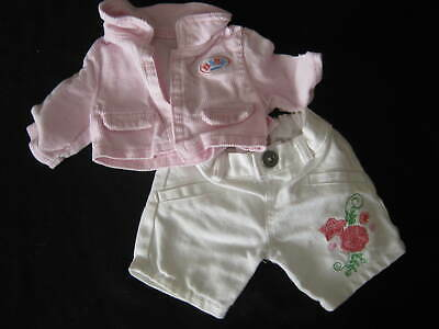 Baby Born Pink Jacket + Trousers  By Zaph Creations