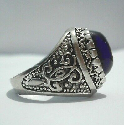 Extremely ANCIENT Rare RING VIKING SILVER OLD Medieval  Antiques |Antiquities