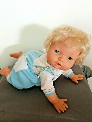 OOPSIE DAISY Doll Irwin Toy Limited 1988 Crawling Doll Working
