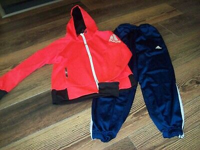 Girls Adidas Hoodie/Joggers Both Age 9-10