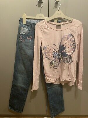 Girls Next Outfit Jeans And Top Age 9 Years