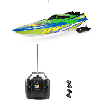 RC Boat High Speed Fast Ship Racing Radio Controlled Motor Boat Toy Kid W5M0