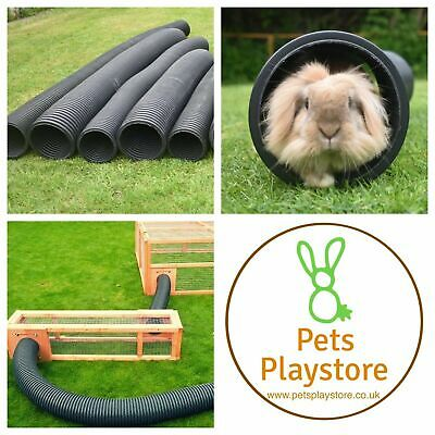Pet Rabbit, Guinea Pig etc Flexible 6inch & 8inch Diameter Play Tunnel