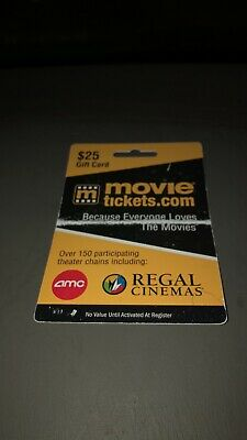 $25 Movie Tickets Giftcard