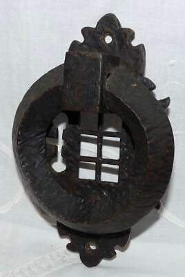 Antique Heavy Brass Door Knocker. Collectable.