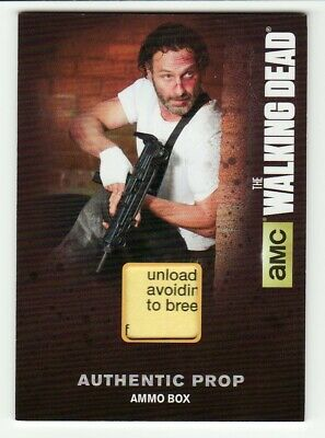 Andrew Lincoln As Rick Grimes The Walking Dead Season 4 Ammo Box Prop #M24 Ssp 1