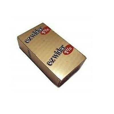 EZ WIDER GOLD 1 1/2Rolling Papers 24 BOOKLETS Buy 10  get 1 Free