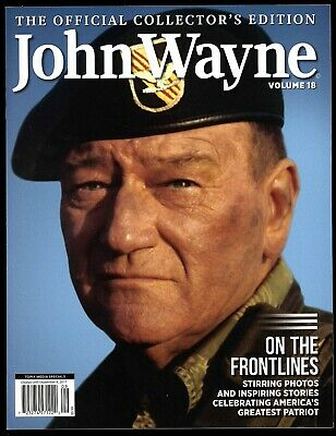 JOHN WAYNE Magazine #18 Official Collector's Edition Green Beret cover WWII