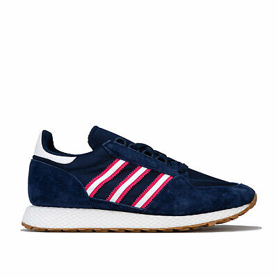 Mens adidas Originals Forest Grove Trainers In Night Indigo / Cloud White / Real