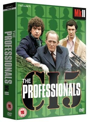 The Professionals MK II (MK 2) - DVD Boxset - Brand New and Sealed
