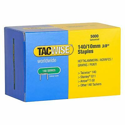 Tacwise 140 Series 10Mm Heavy Duty Staples For Staple Gun 5000 Pieces