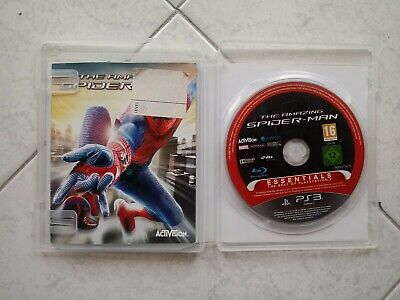 The Amazing Spider Man Edizione italiana completo di manuale per sony ps3