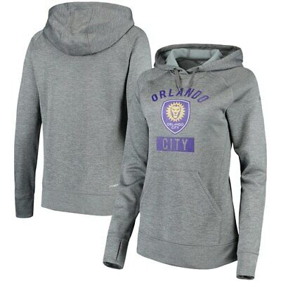 adidas Orlando City SC Heathered Gray Standard Issue Raglan