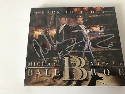 Michael Ball And Alfie Boe Signed Back Together CD