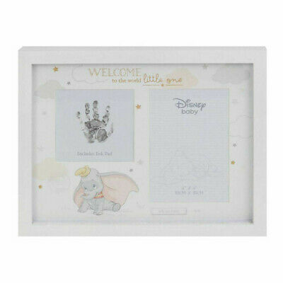 Disney Gifts Dumbo Photo & Hand Print  Personalised with a Unique Message Frame