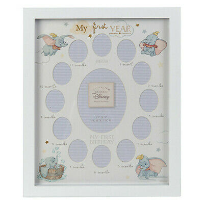 Disney Gifts Dumbo My First Year Extra Special newborn in your Life Frame Large