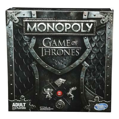 Monopoly Game of Thrones Adult Board Game Party for 2-6 Players Hasbro Gaming