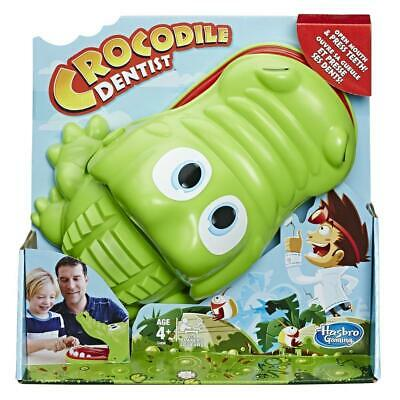 Hasbro Crocodile Dentist Board Game Toy for Kids & Family Ages 4+ 2-4 Players