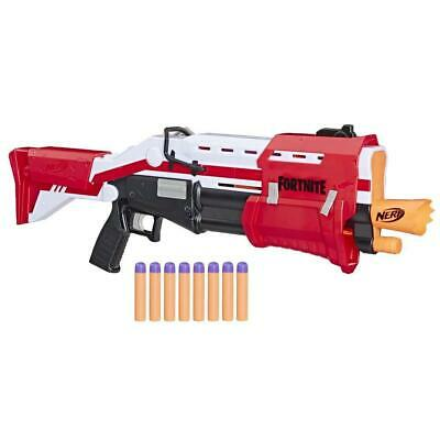 Nerf Fortnite TS Blaster Pump-Action Mega Dart Blaster inc 8 MEGA Darts Ages 8+