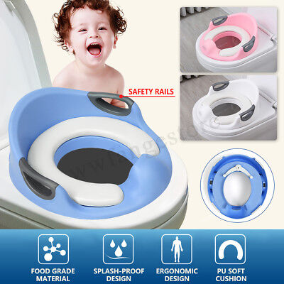 Potty Training Toilet Seat Baby Kid Toddler Potty Cover Trainer Children  !