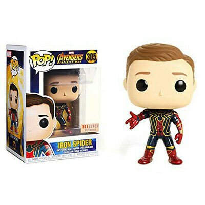 Funko Pop Marvel 305 Avengers Infinity War 29545 Iron Spider Unmasked Exclusive