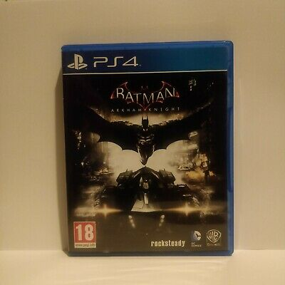 PlayStation 4 Batman Arkham Knight - Disc Perfect Condition