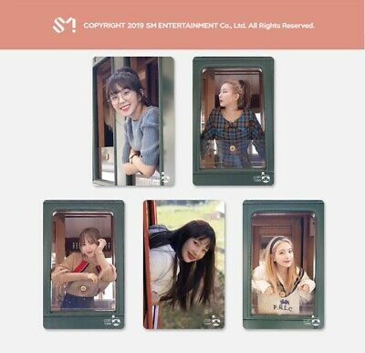 RED VELVET SMTown Official CASHBEE PHOTO CARD [ PRE-ORDER ] SEALED +Tracking No.