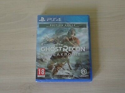 Tom Clancy's ghost recon Breakpoint Edition Auroa Neuf New blister Jeu PS4