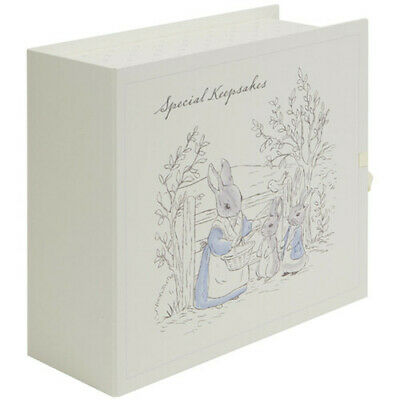 Beatrix Potter Peter Rabbit Illustrated Treasure Special Memories Keepsake Box