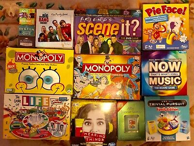 Bundle of 13 Family Board Games