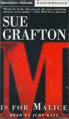 M Is for Malice Grafton, Sue Audio Cassette Used - Very Good