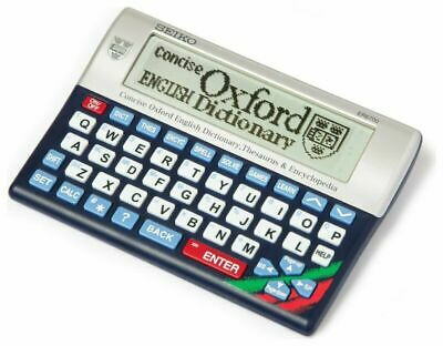 Electronic Concise Oxford Dictionary Crossword Solver Thesaurus Spellchecker New
