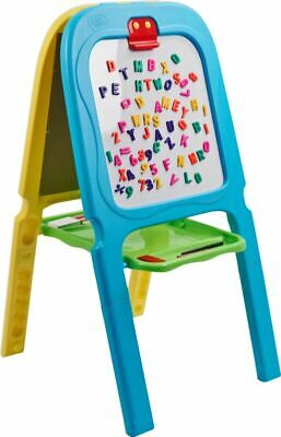 Kids Double Sided Easel Art Set 2In1 Magnetic Chalk Board Creative Drawing Toy