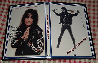 Alice Cooper - The Ultimate Rarities DVD SPECIAL FAN EDITION