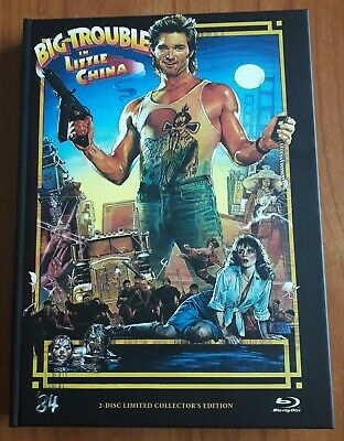 Grosso Guaio a Chinatown - BIG TROUBLE IN LITTLE CHINA (dvd + blu-ray) MEDIABOOK