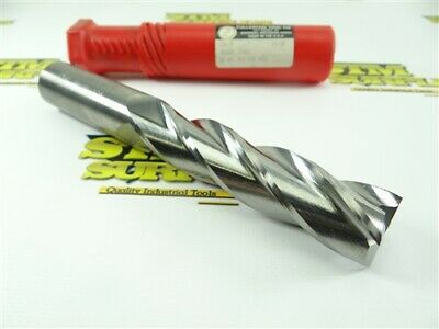 """New! Fullerton Solid Carbide 4 Flute Xl End Mill 1"""" X 1"""" X 4"""" X 7"""" #32270"""